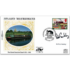 1993 Inland Waterways - Signed by Peter Soulsby MP