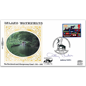 1993 Inland Waterways - Signed by Anthony Burton