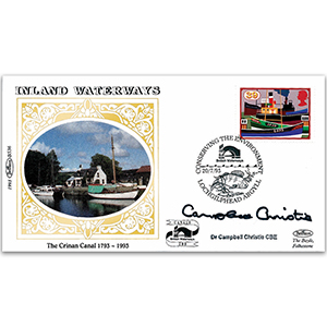1993 Inland Waterways - Signed by Dr. Campbell Christie CBE