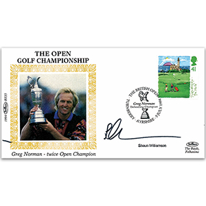 1994 Golf - Signed by Shaun Williamson