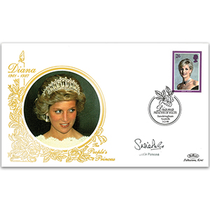1998 Princess Diana - Signed by Susie Parsons
