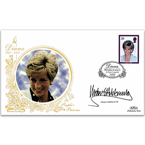 1998 Princess Diana 'In Memoriam' - Signed by Victor Adebowale