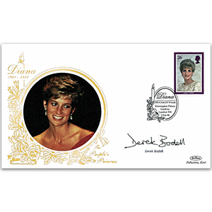 1998 Princess Diana 'In Memoriam' - Signed by Derek Bodell