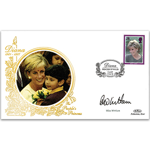 1998 Princess Diana - Signed by Mike Whitlam