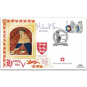 1998 Order of the Garter 650th - Signed by Michael Sheen