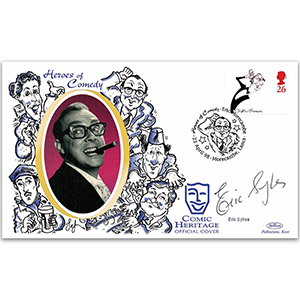 1998 Comedians - Eric Morecambe - Signed by Eric Sykes