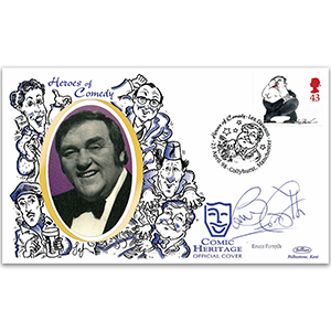 1998 Comedians: Les Dawson - Signed by Sir Bruce Forsyth