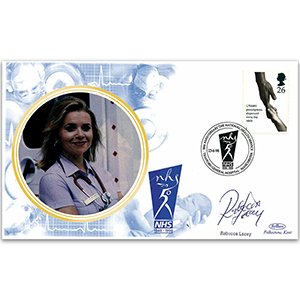 1998 NHS 50th - Signed by actress Rebecca Lacey