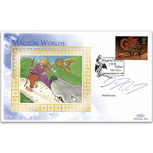 1998 Magical Worlds - Signed by Neil Pearson