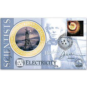 1999 Scientists' Tale: Electricity - Signed by Jez Nelson