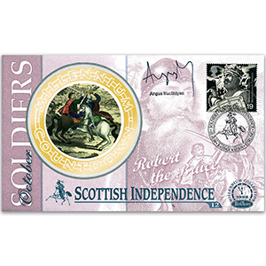 1999 Soldiers' Tale: Scottish Independance - Signed by Angus Macfayden