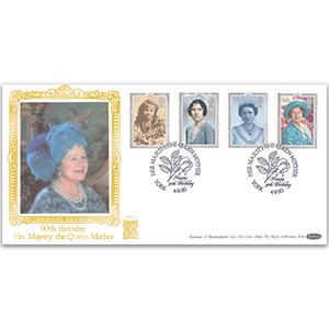 1990 The Queen Mother's 90th Birthday Special Gold Cover - York