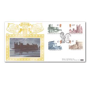 1992 Castles High Values Special Gold Cover - Caernarfon, Gwynedd