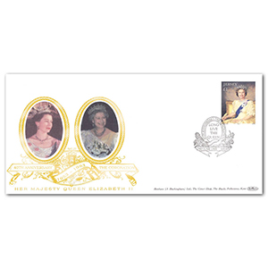 1993 Jersey Coronation 40th Special Gold Cover - 'Long Live the Queen', Jersey