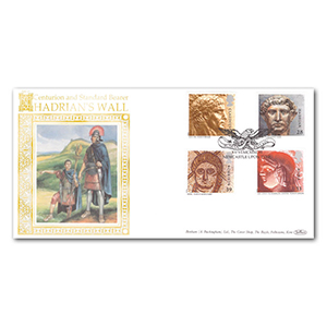 1993 Roman Britain Special Gold Cover - Newcastle