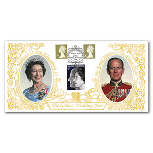 1997 Royal Golden Wedding Year Special Gold Cover - Windsor, Berks