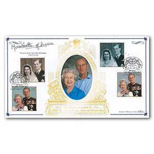 1997 Royal Golden Wedding Special Gold Cover - Windsor - Signed by Countess Mountbatten of Burma