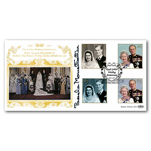 1997 Royal Golden Wedding Special Gold Cover - Westminster - Signed Lady Pamela Mountbatten