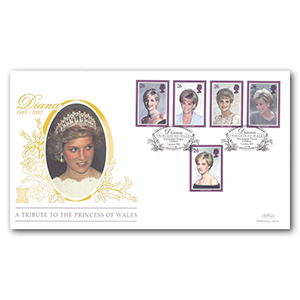1998 Princess Diana Special Gold Cover - Kensington Palace Gardens