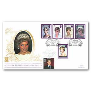 1998 Princess Diana Special Gold Cover - Kensington Palace Gardens - Doubled 2000