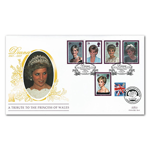1998 Princess Diana Special Gold Cover - Kensington Palace Gardens - Doubled 2007