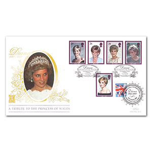 1998 Princess Diana Special Gold Cover - Doubled 2007 Kensington Palace Gardens
