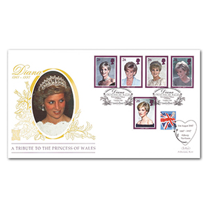 1998 Princess Diana Special Gold Cover - Kensington Palace Gardens - Doubled 2007 Althorp