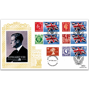 2006 Abdication of Edward VIII 70th Special Gold - Cover 2 - Doubled 2011