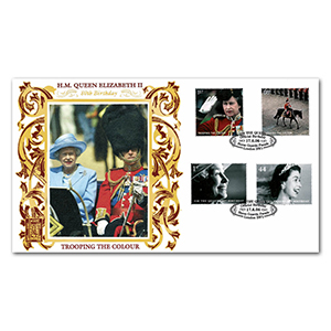 2006 HM The Queen's 80th Birthday Special Gold Cover - Horse Guard's Parade