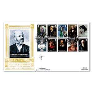 2006 National Portrait Gallery Special Gold Cover - Signed by Paul Fraser