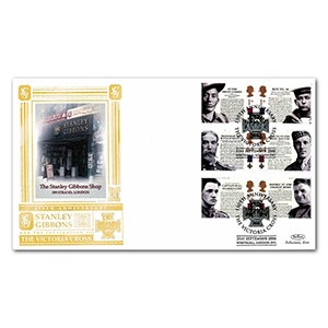 2006 Victoria Cross 150th Stamps Special Gold Cover