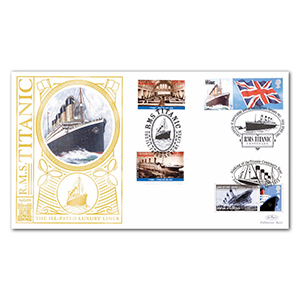 2007 RMS Titanic Special Gold Cover - Doubled 2012