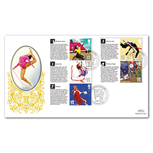 2011 Olympic and Paralympic Games Commemorative Sheet III Special Gold - Cover 2