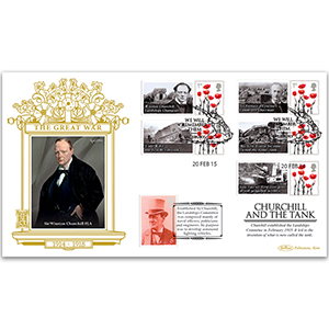 2015 WWI - Churchill and the Tank Special Gold Cover