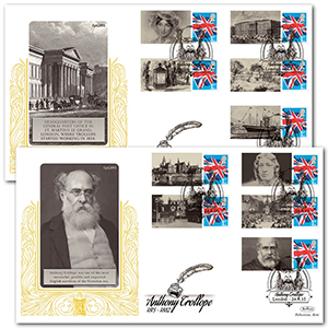 2015 Anthony Trollope Commemorative Sheet Special Gold Pair