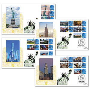 2016 New York Exhibition Special Gold - Set of 4