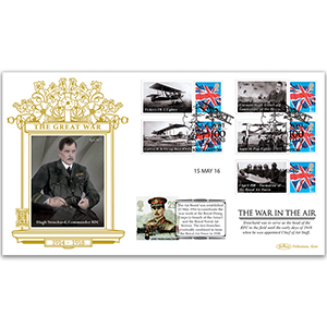 2016 WW1 Special Gold Cover - 'The War in the Air'