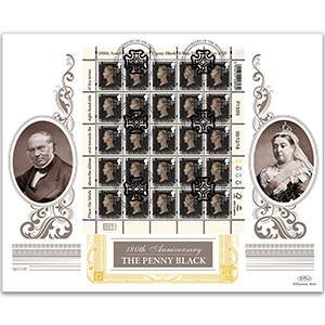 2020 180th Anniversary of the Penny Black Special Gold Cover