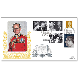 2021 Death of HRH The Duke of Edinburgh Special Gold Cover
