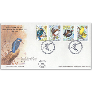 1980 Birds Protection Act Centenary - Norfolk Naturalist Trust Official