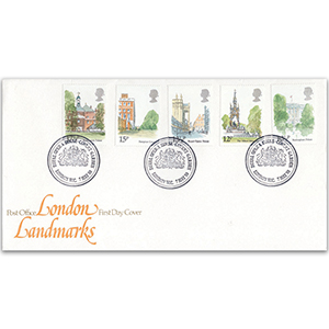 1980 London Landmarks - Post Office FDC - Covent Garden