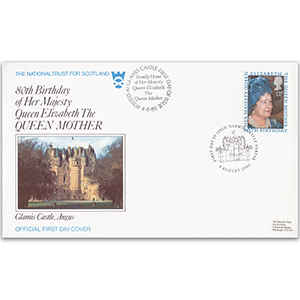 1980 Queen Mother's 80th - National Trust for Scotland Official - Glamis
