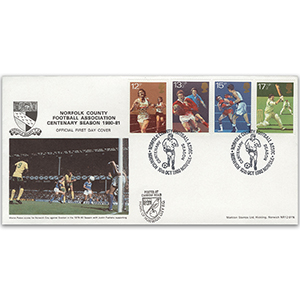1980 Sport - Norfolk County FA Official