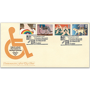 1981 Year of the Disabled - Multiple Sclerosis Official