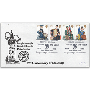 1982 Youth Organisations - Loughborough District Scouts Official