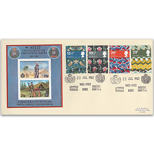 1982 British Textiles - BFPS Centenary Official