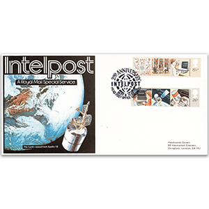 1982 IT Year - Intelpost Royal Mail Special Service Official