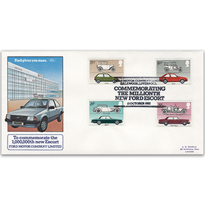 1982 British Motor Industry - Millionth Ford Escort Official