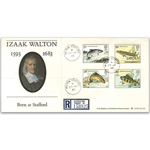 1983 British River Fishes - Walton, Stafford