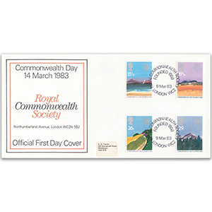 1983 Commonwealth Day - Royal Commonwealth Society Official